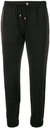 Brunello Cucinelli crop length track trousers