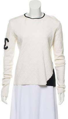 Chanel CC Quilted Sweater