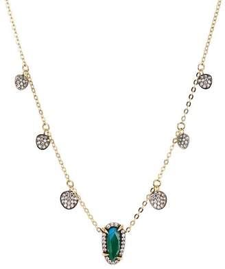 "Nadri Jasmine Shaky Station Necklace, 15"""