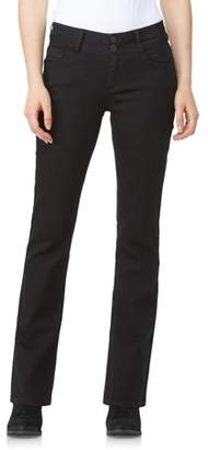 Wallflower Juniors' Luscious Curvy Bootcut Jeans