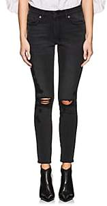 Ksubi Women's Spray On Distressed Skinny Jeans - Black