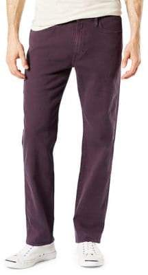 Dockers Straight-Fit Alpha Jean-Cut Khaki Pants