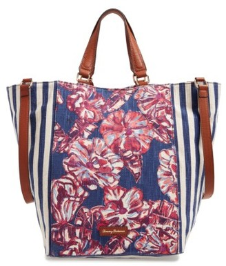 Tommy Bahama Reef Convertible Tote - Blue $128 thestylecure.com