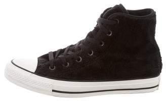 Converse Fleece High-Top Sneakers