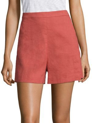 Theory Theory Tarrytown High-Waist Shorts