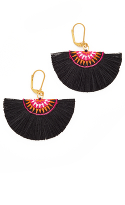 Shashi Sophie Fan Earrings $37 thestylecure.com