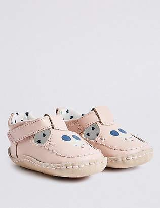 Marks and Spencer Baby Leather Printed Pram Shoes