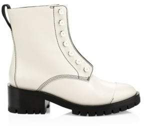 3.1 Phillip Lim Hayett Faux-Pearl Lug Sole Boots