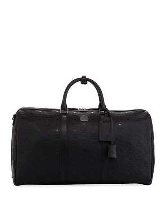 MCM Ottomar Men's Embossed Weekender Bag