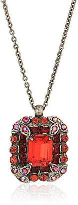 Sorrelli Ruby Lycoris Pendant Necklace