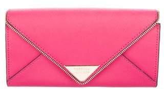 Rebecca Minkoff Textured Leather Envelope Wallet