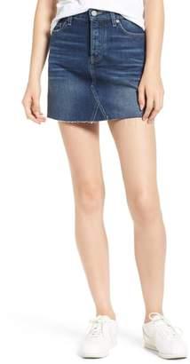 Paige Aideen Denim Miniskirt