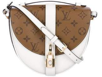Louis Vuitton 2018 Reverse Monogram and Leather Chantilly MM
