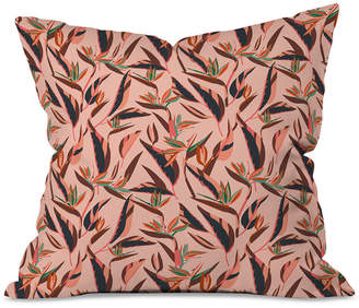 Deny Designs Holli Zollinger Anthology of Pattern Elle Bird of Paradise Pink Throw Pillow