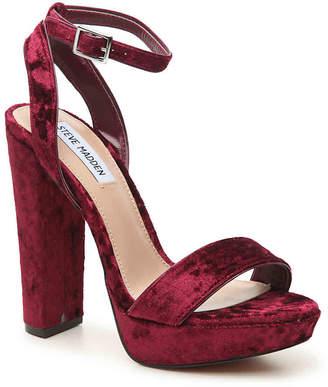 Steve Madden Insomnia Velvet Platform Sandal - Women's