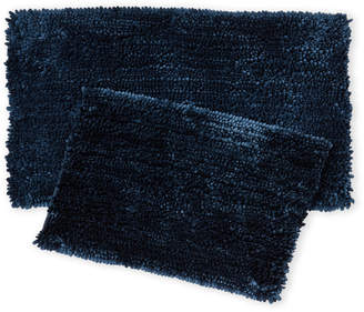 Nicole Miller New York Set of Two Chenille Bath Rugs