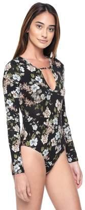 Juicy Couture Bloom Long Sleeve Bodysuit