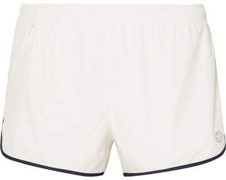 Tory Sport Two-tone Shell Shorts - White