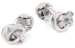 Saks Fifth Avenue COLLECTION Textured Knot Cufflink Set