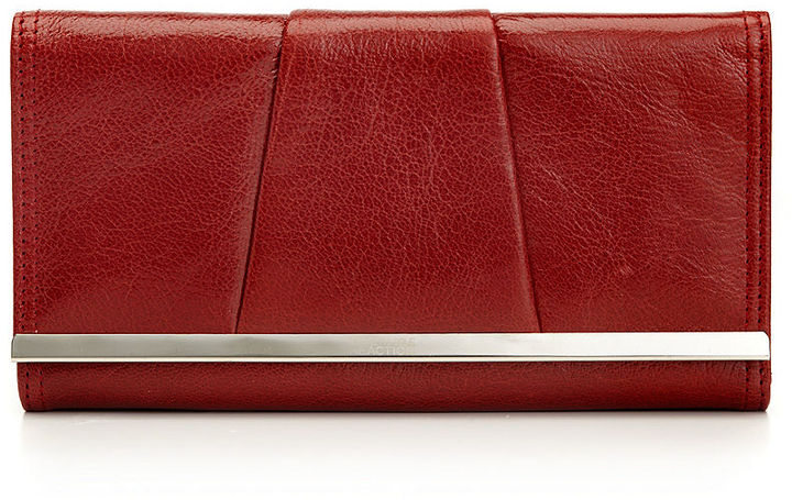 Kenneth Cole Reaction Wallet, Barcelona Leather Flap Clutch