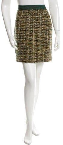 Kate Spade New York Tweed Mini Skirt