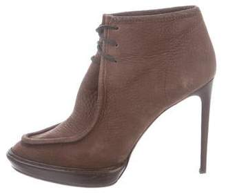 Burberry Suede Ankle Booties
