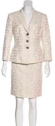 Dolce & Gabbana Brocade Skirt Suit