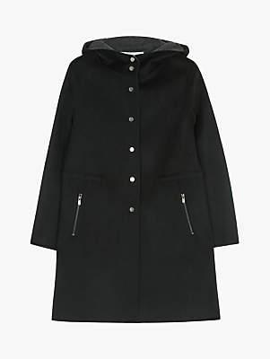 Gerard Darel Mariel Hooded Coat, Black