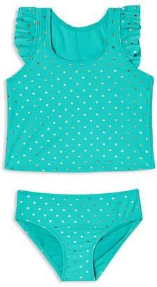Hula Star Girls' Twinkle Star 2-Piece Tankini Swimsuit - Little Kid