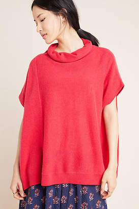 Anthropologie Patty Cowl Neck Cashmere Poncho