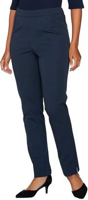 C. Wonder Stretch Twill Pull-On Ankle Length Pants