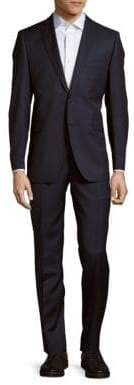 Saks Fifth Avenue Wool And Silk Blend Suit
