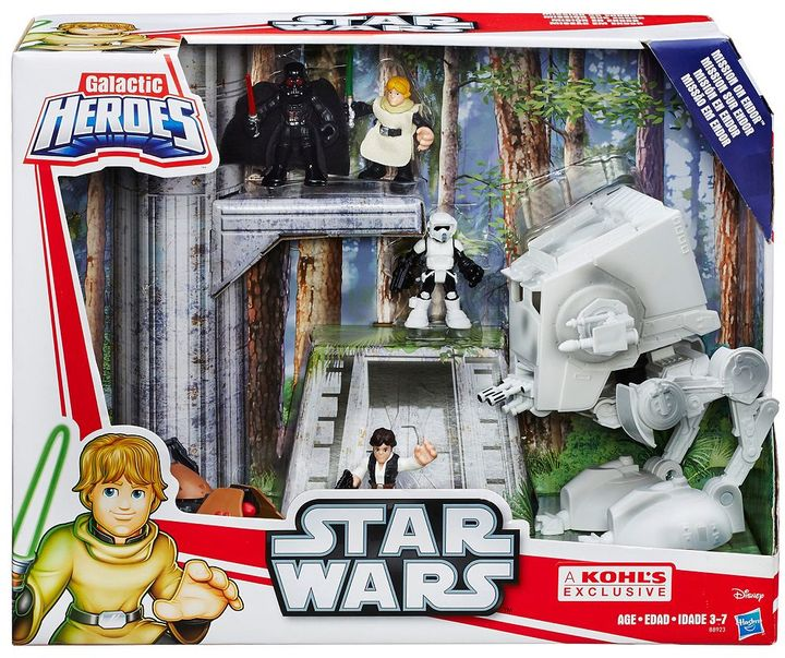 Playskool Heroes Star Wars Galactic Heroes Mission on Endor Set
