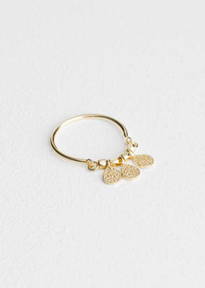 And other stories Trio Droplet Charm Ring
