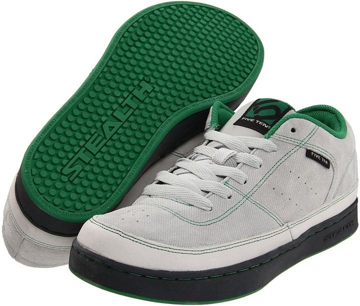 Five Ten Spitfire Low (Whitsper White/Grass Green) - Footwear