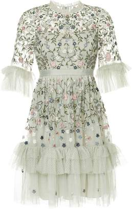 Needle & Thread floral embroidered dress