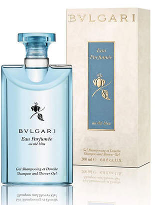 Bvlgari Eau Parfumée Au Thé Bleu Shampoo and Shower Gel, 6.8 oz.