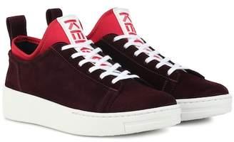 Kenzo K-City suede sneakers