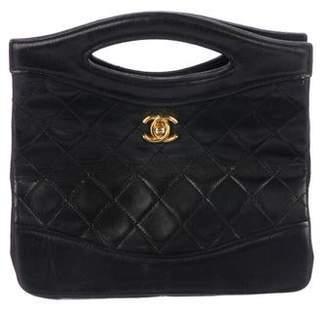 Chanel Lambskin Handle Bag