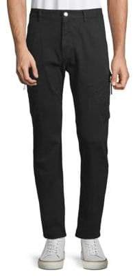 Helmut Lang Buttoned Skinny Pants