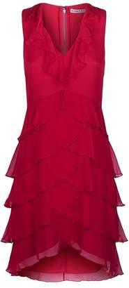 Alice + Olivia Felicita Tiered Ruffle Mini Dress