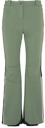 Fendi Pequin Striped Ski Pants - Green