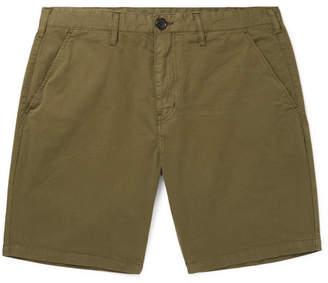 Paul Smith Slim-Fit Stretch Cotton-Twill Shorts