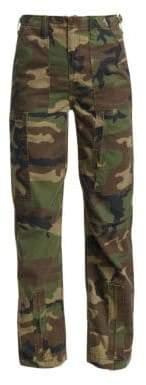 RE/DONE High-Waist Cargo Pants