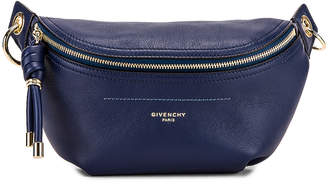 Givenchy Contrast Chain Whip Belt Bag in Royal Blue | FWRD