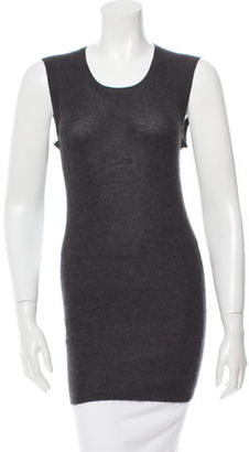 Vera Wang Cashmere Sleeveless Top $75 thestylecure.com