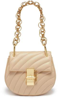 Chloé 'Drew Bijou' mini quilted leather shoulder bag