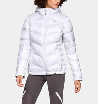 Under Armour Women's UA Outerbound Down Hooded Jacket