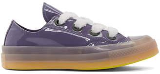J.W.Anderson Purple Converse Edition Patent Sneakers