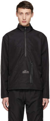 all in Black Tennis Jacket